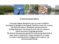 2. Environmental efforts
