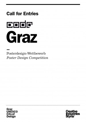 CODE: POSTER DESIGN COMPETITION [GRAZ] Application procedures are announced.
