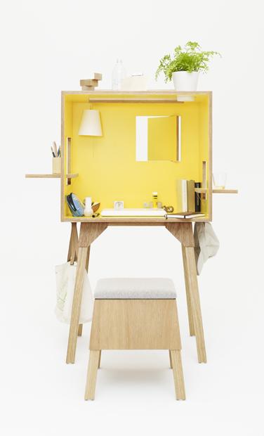 koloro-desk & koloro-stool